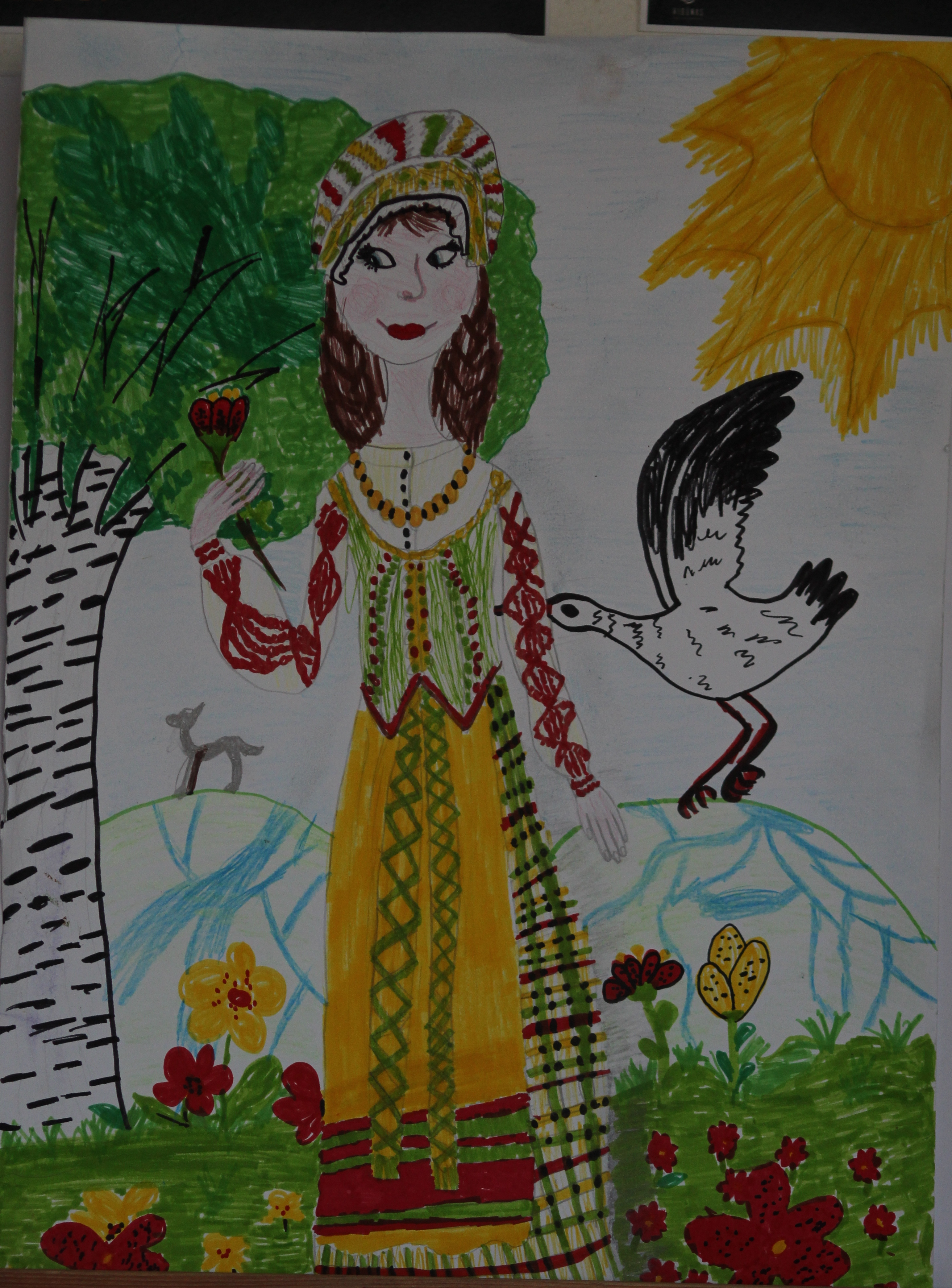 Ana Narmontaitė, 10 metų, Baubliai