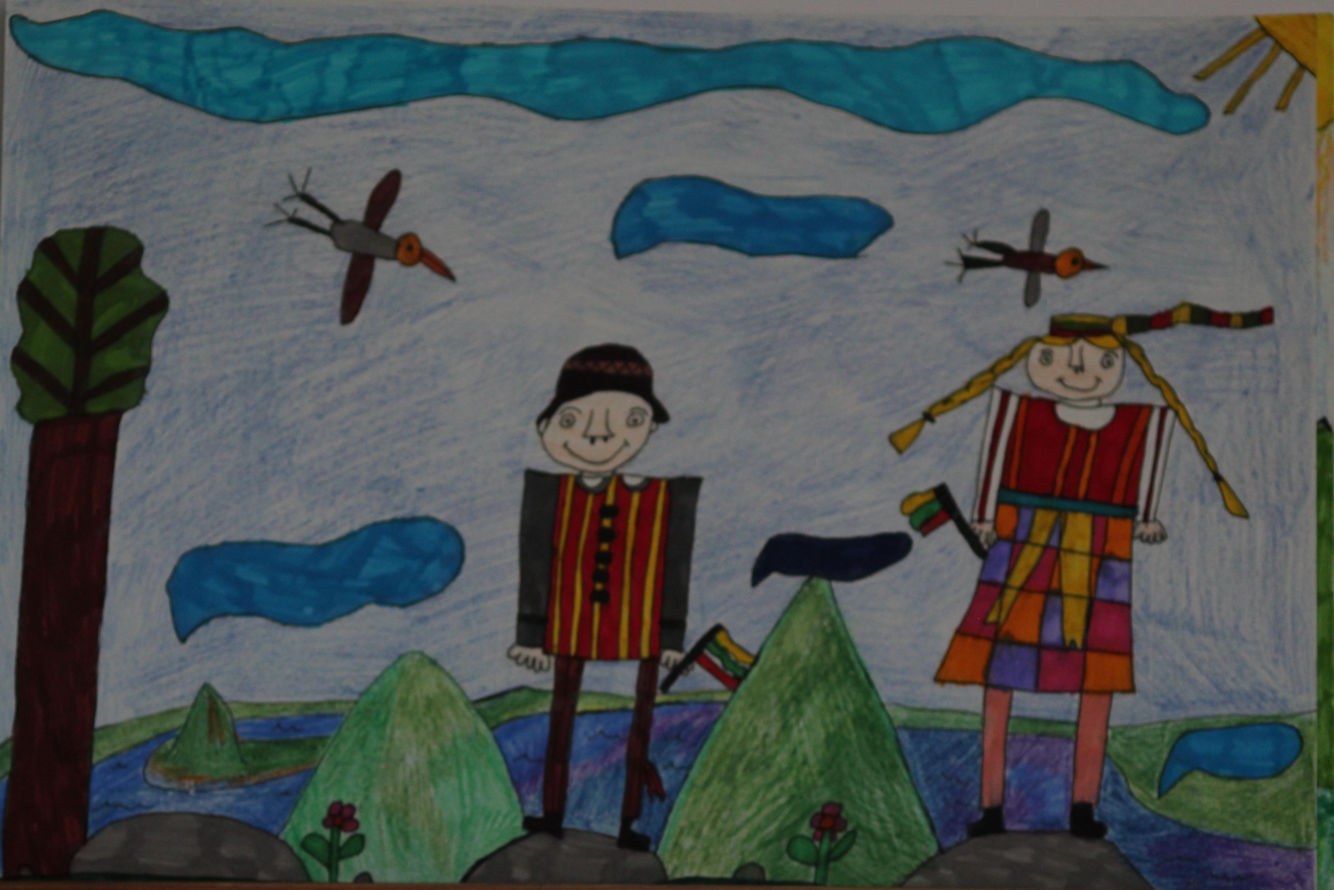 Austėja Gintvainytė, 8 metai, Alytus