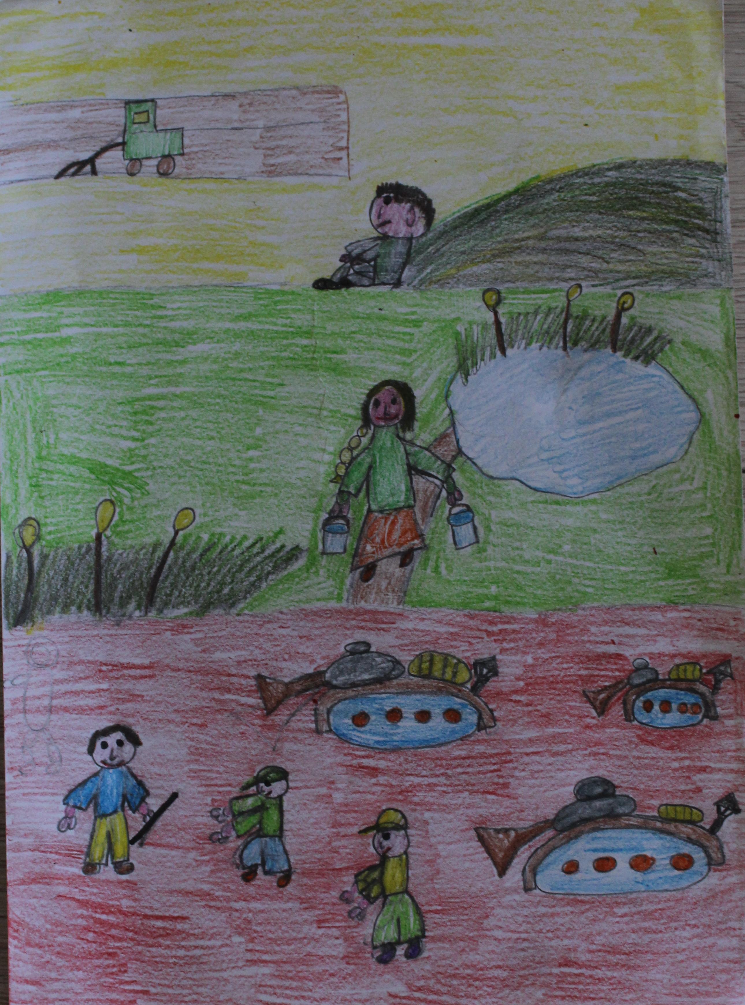Deimantė Šiaudkulytė, 6 klasė, Upytė