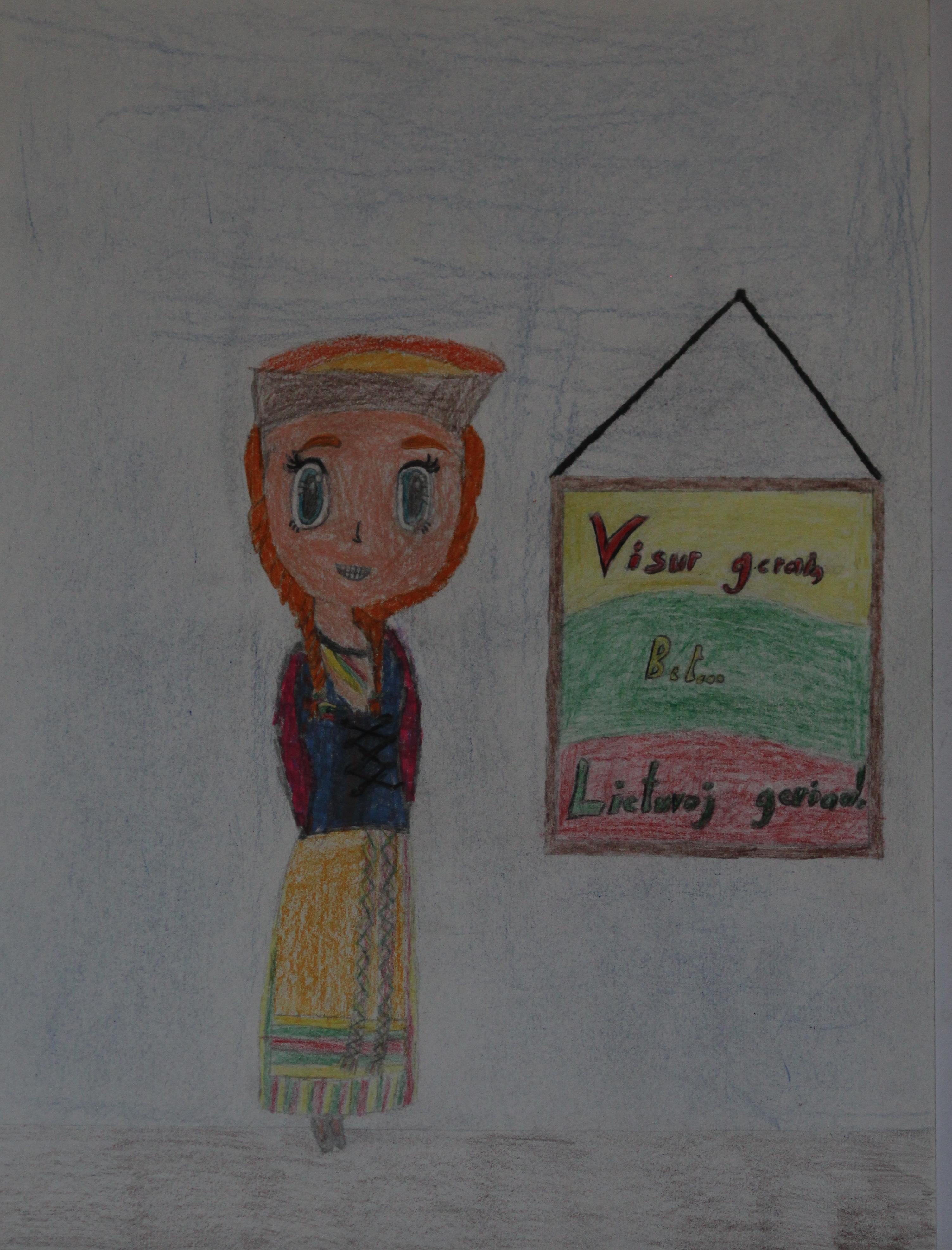 Eimantė Mišutytė, 10 metų, Klaipėda
