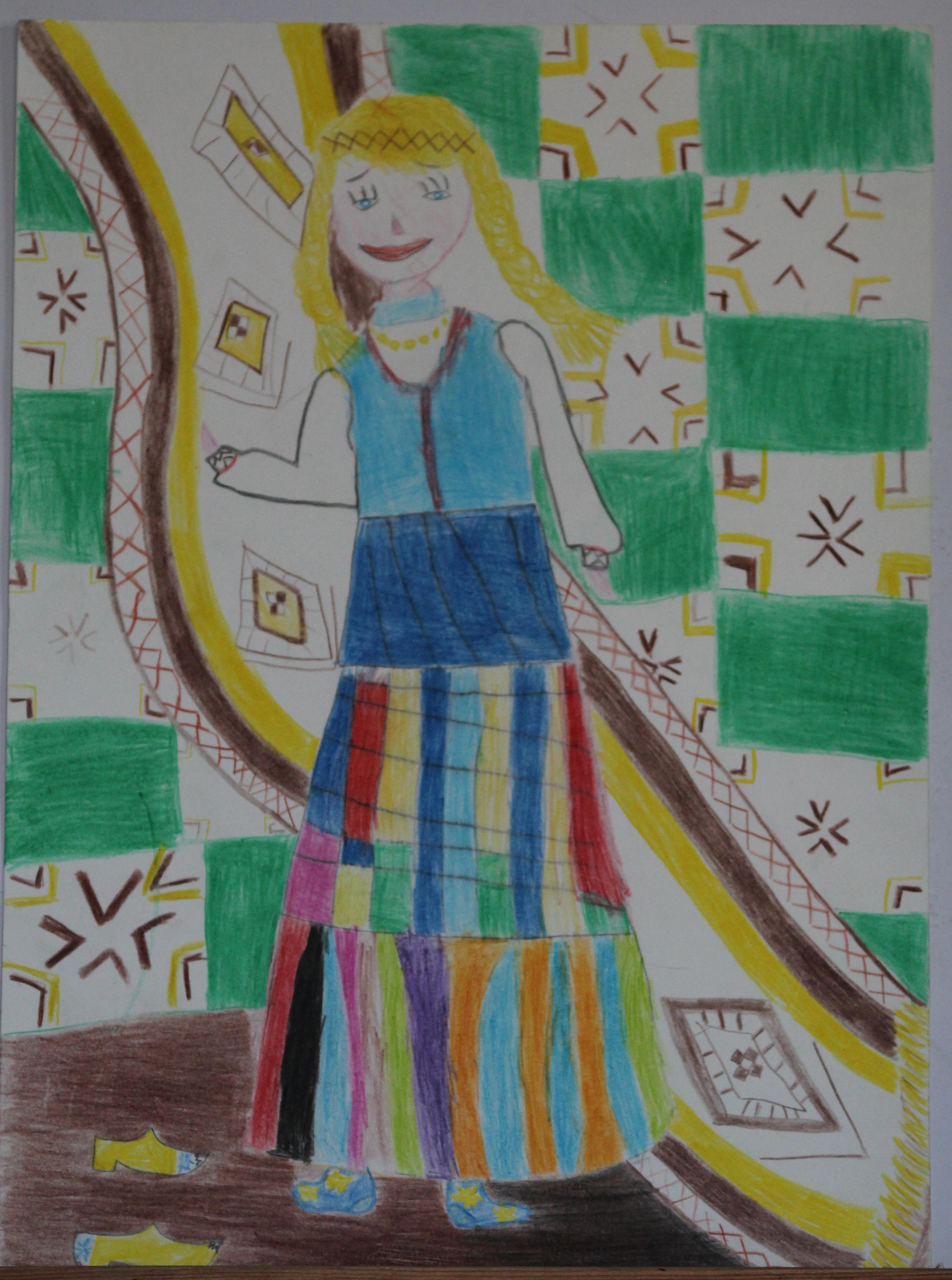 Fausta Marinkevičiūtė, 5 metai, Akmenė
