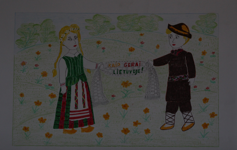 Fausta Pauliūtė, 8 metai, Kretingos raj., Salantai