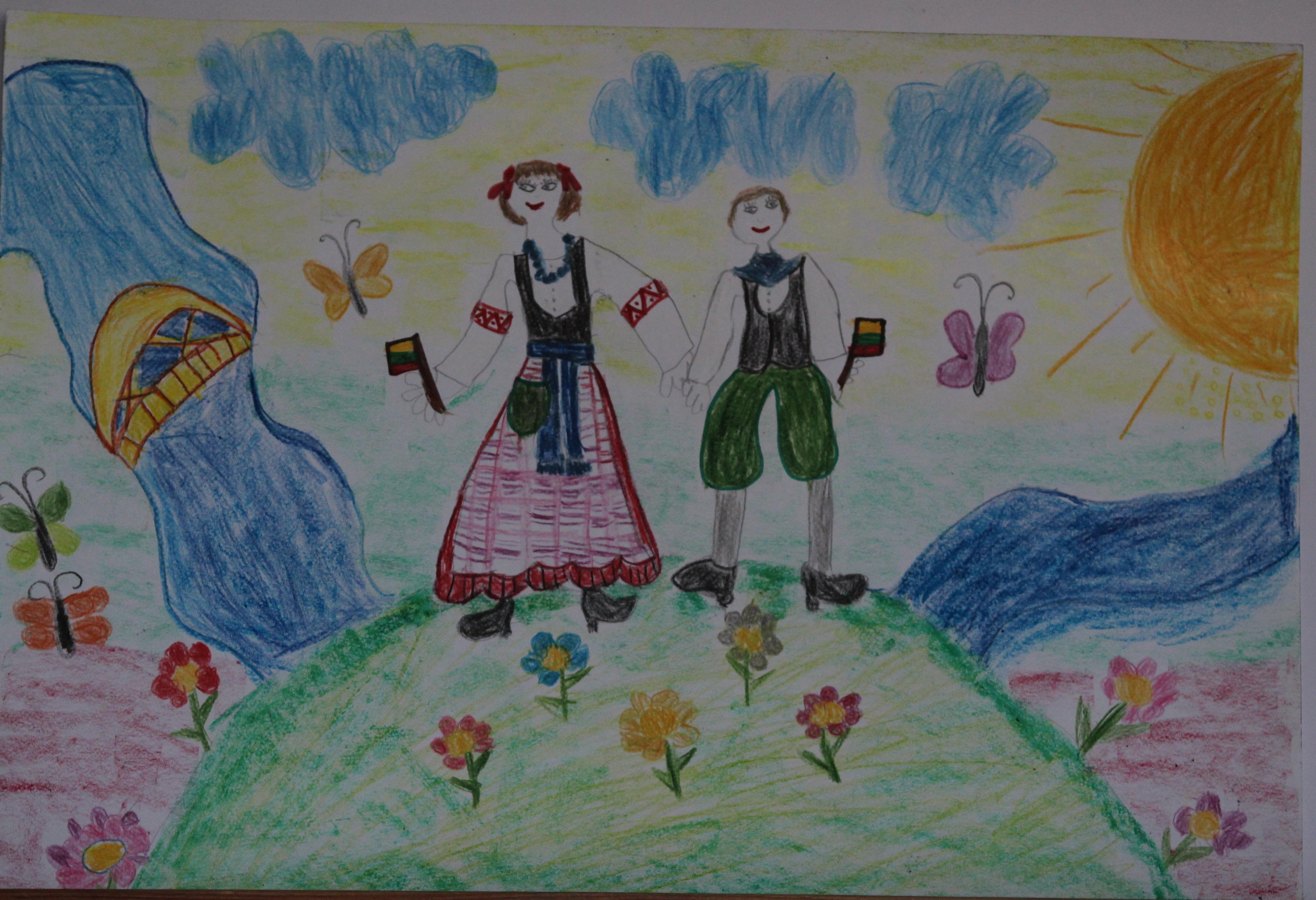 Ieva Lekštutytė, 6 metai, Šilutė