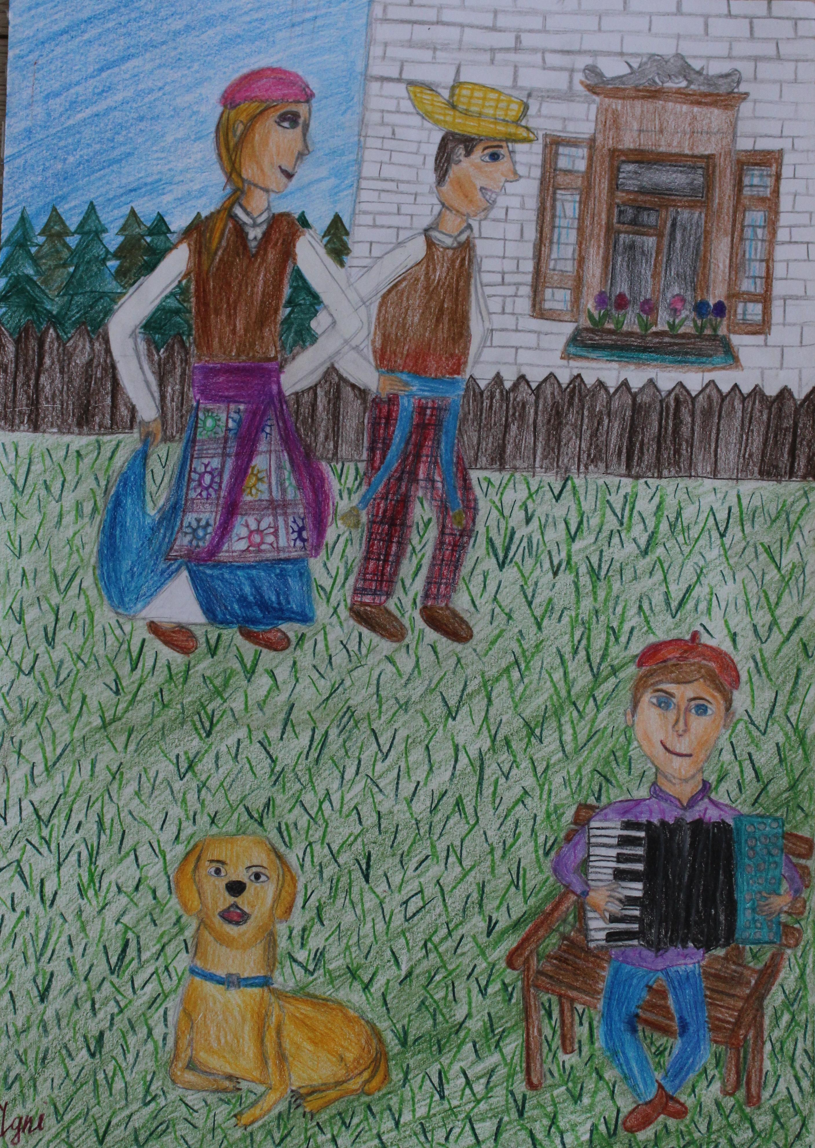 Ignė Rimgailaitė, 10 metų, Skuodas