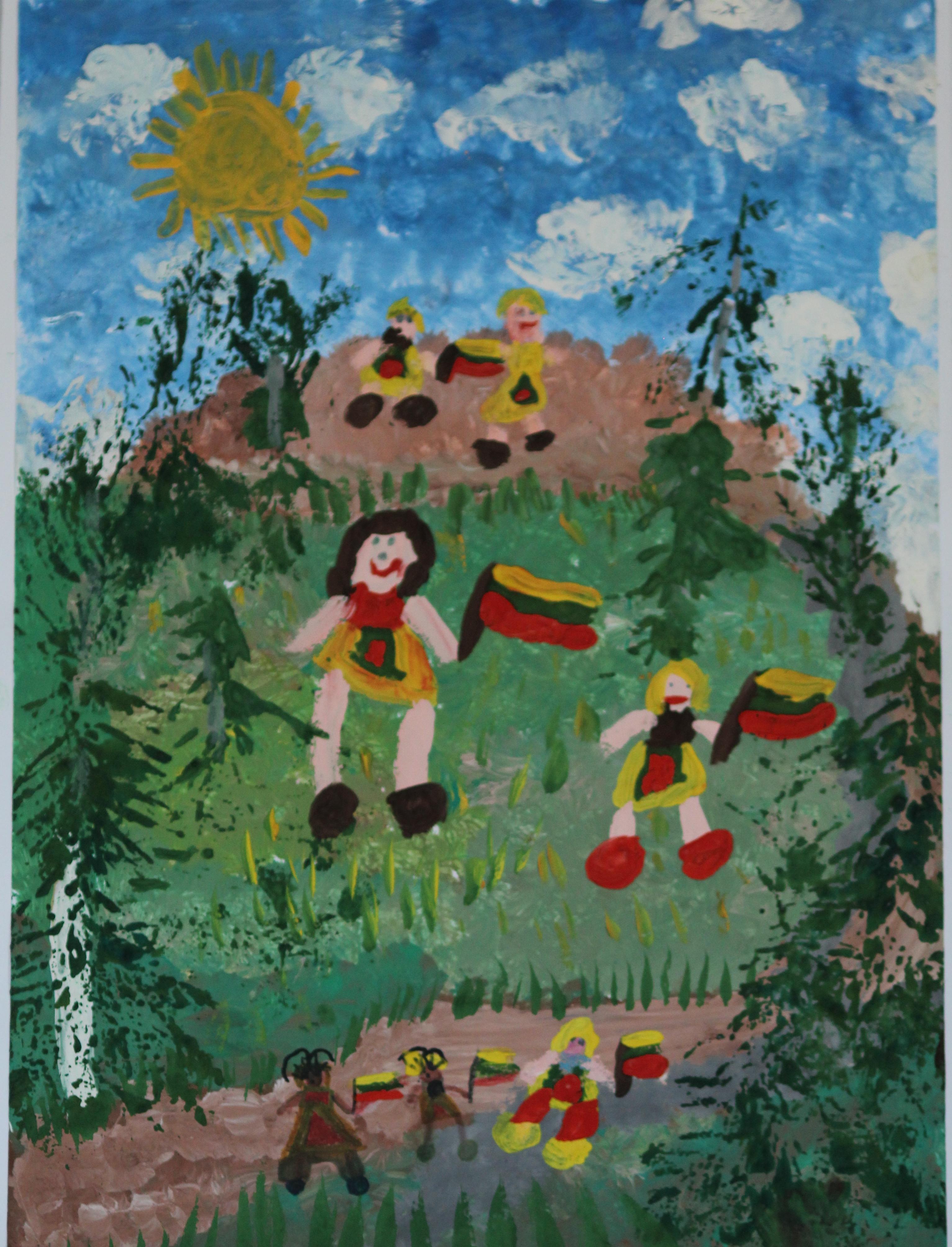 Kamilė Mačerniutė, 5 metai, Plungė