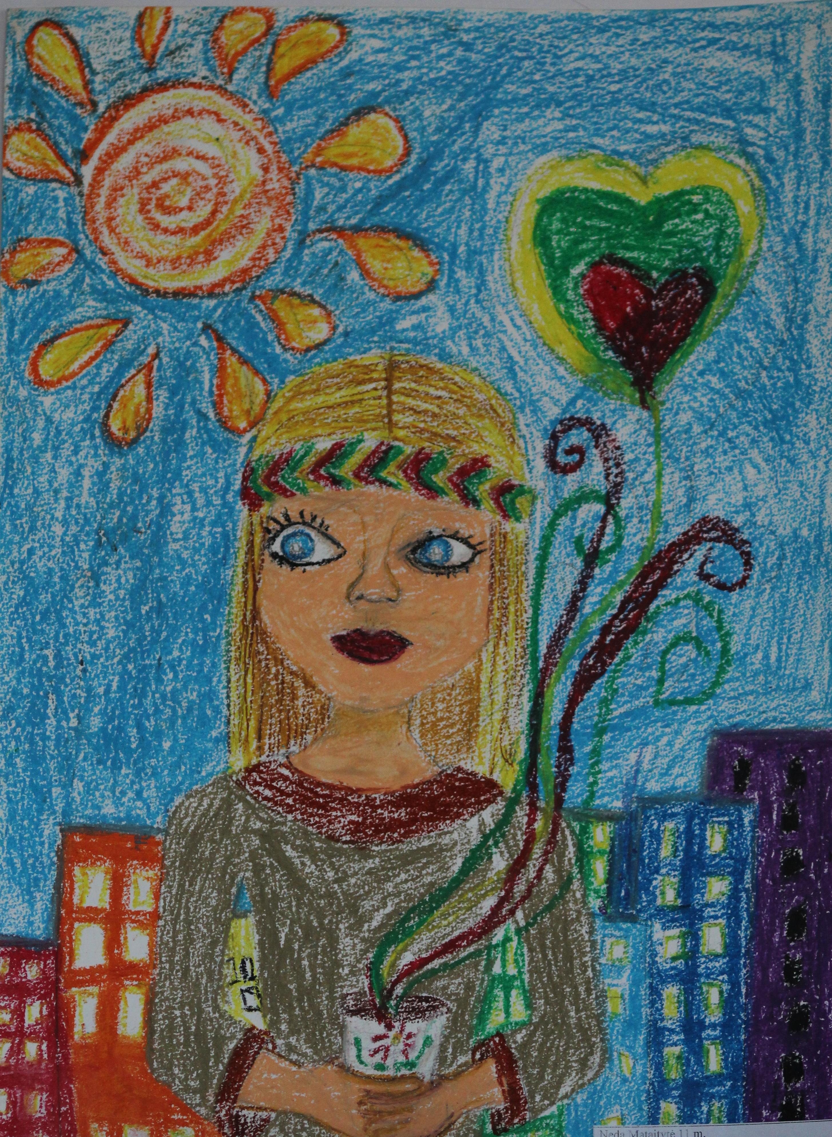 Neda Mataitytė, 11 metų, Šiauliai