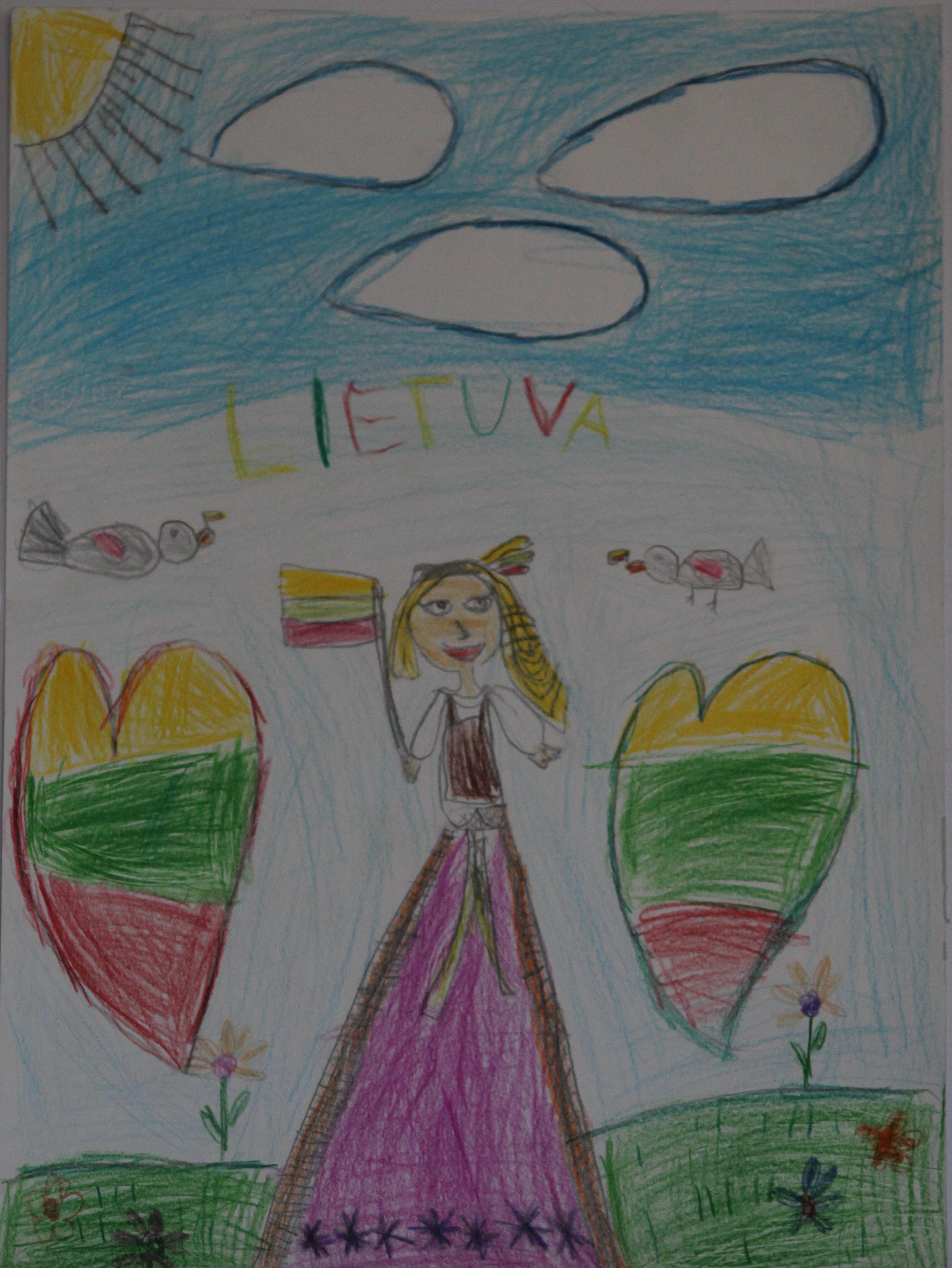 Radvilė Skritaitė, 6 metai, Šiauliai