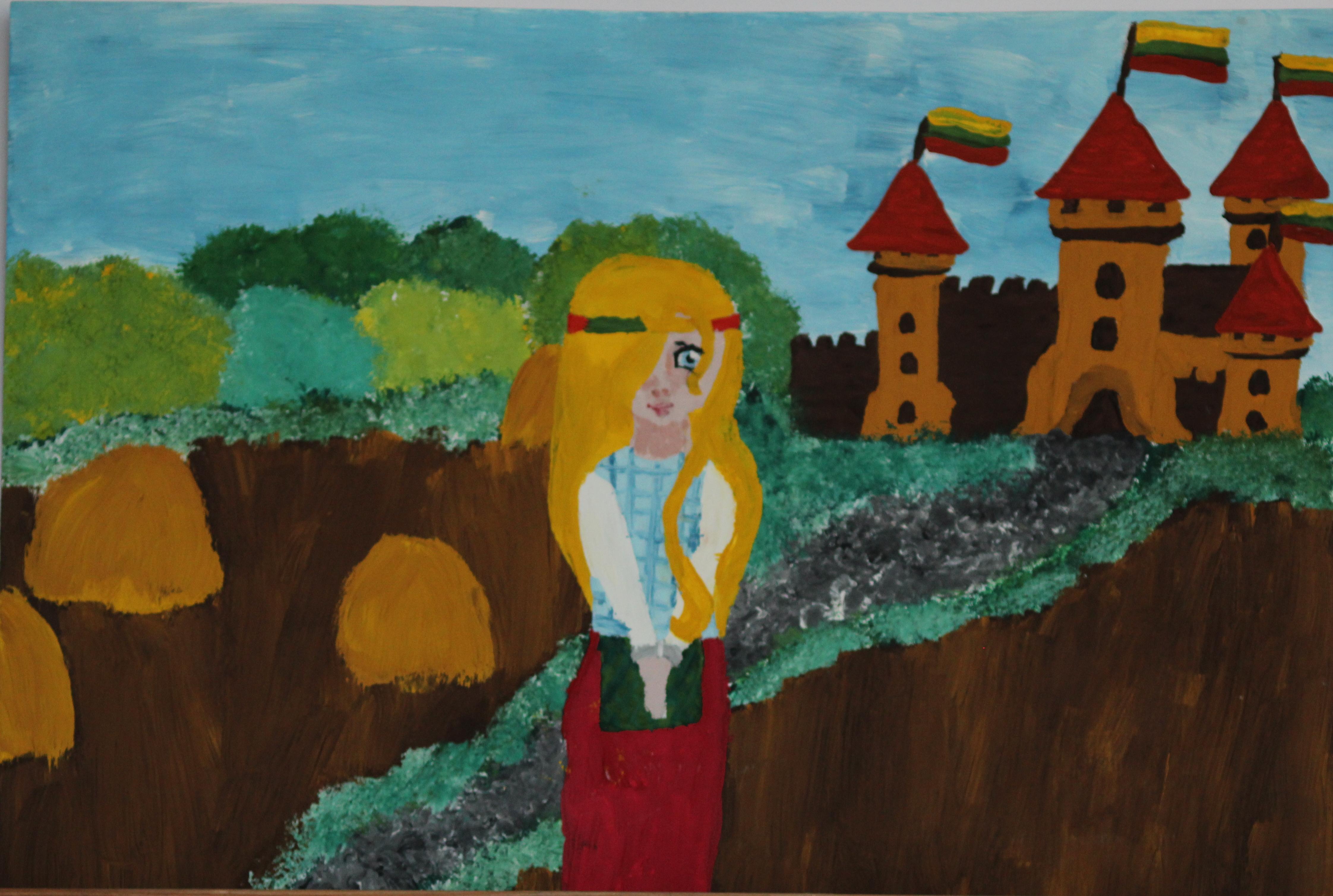 Stela Urbonaitė, 11 metų, Klaipėda