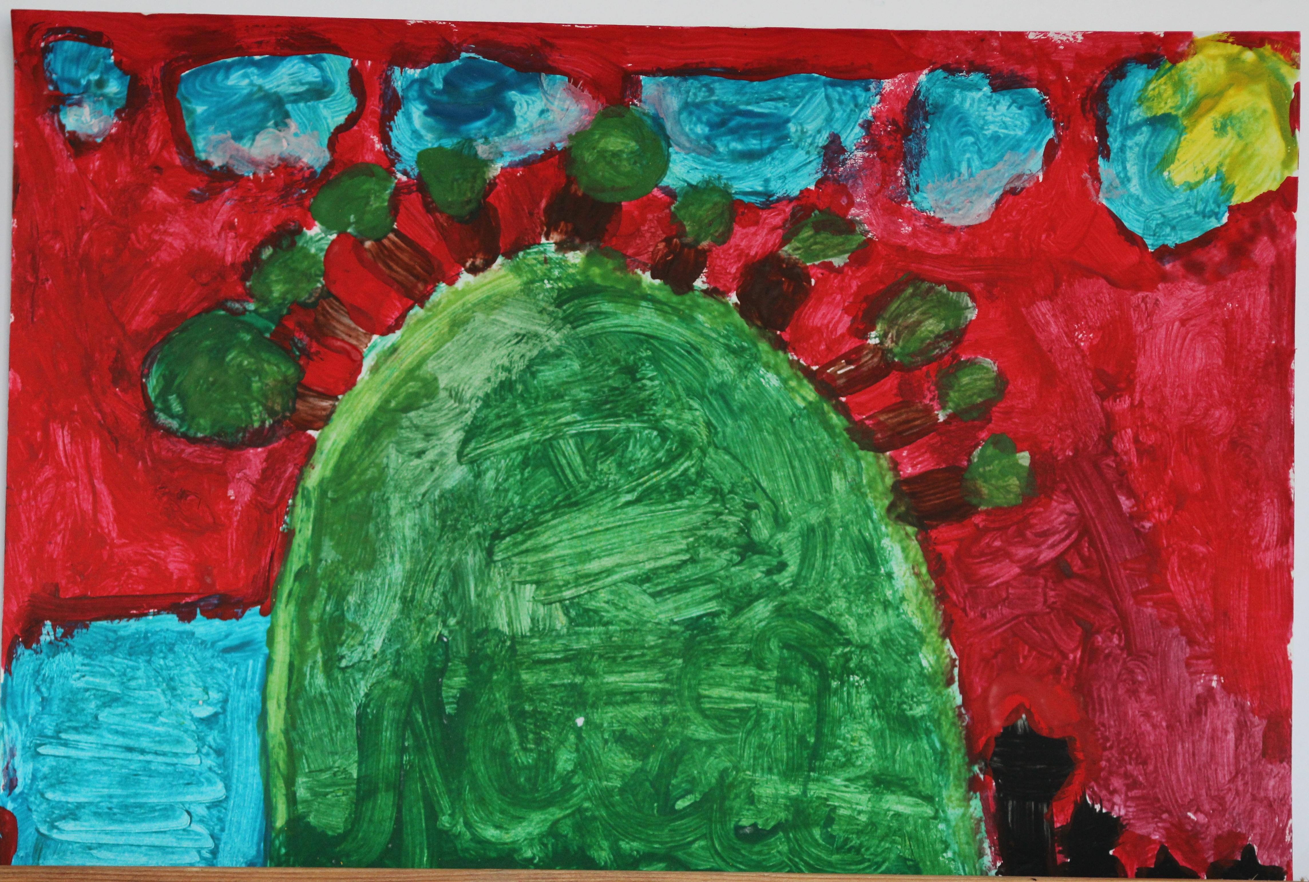 Vaida Molytė, 6 metai, Papilė