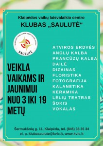KVLC klubas Saulute 2017-2018