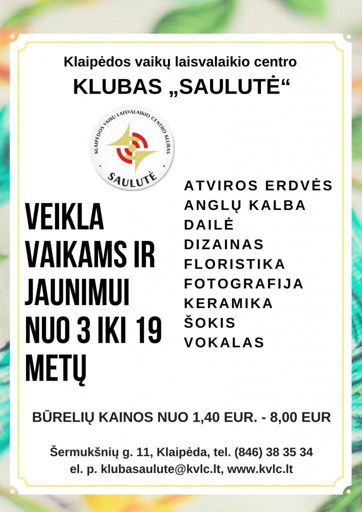 Klubas Saulute 2017-2018