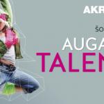 Augantys talentai 1