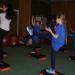 Step aerobika-pradedantiesiems-Atvira pamoka  1