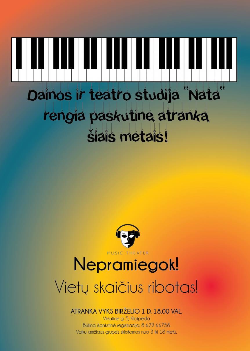 Dainos ir teatro studija Nata