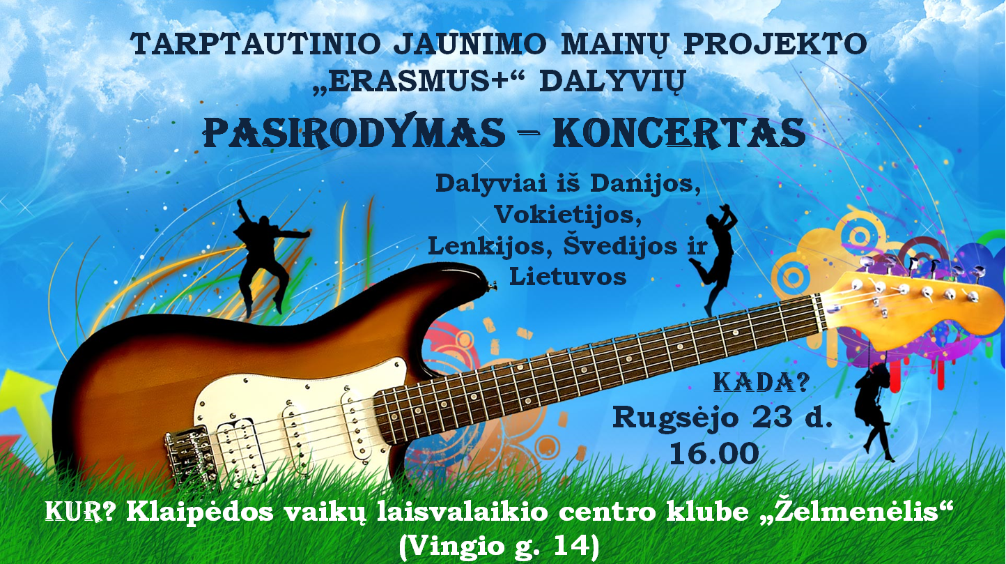 Erasmus+ pasirodymas