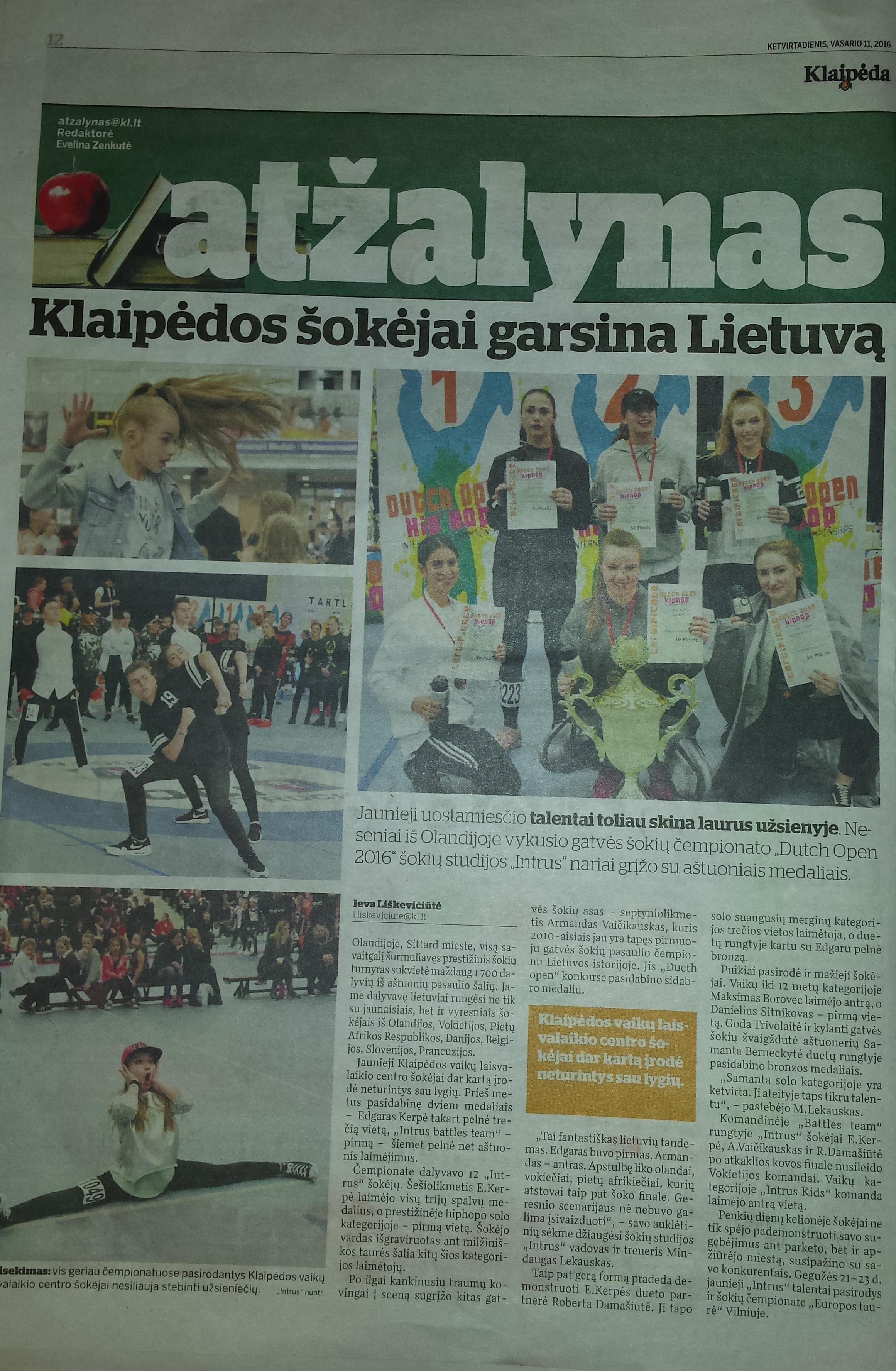 Laikrastyje