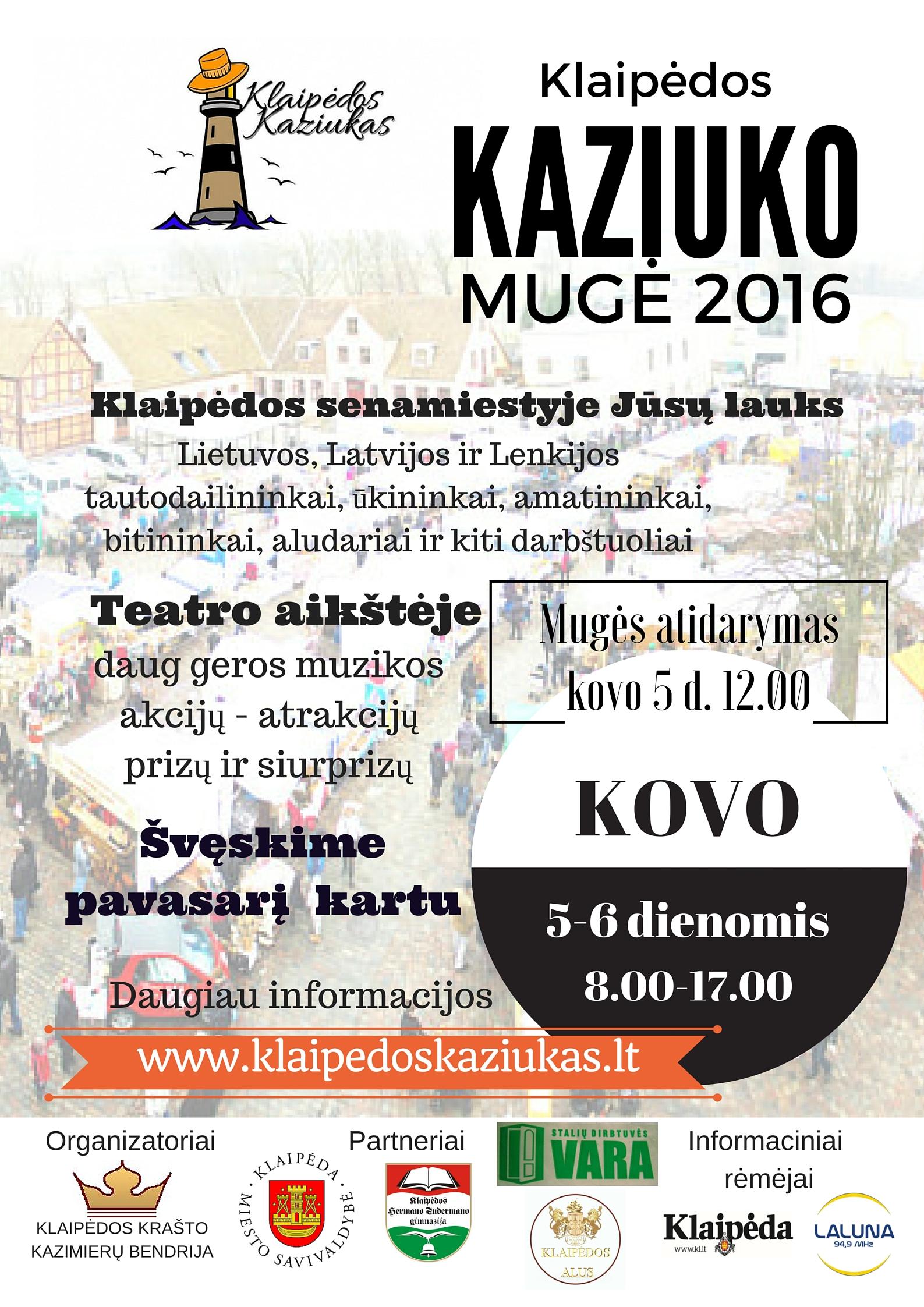 Kaziuko mugė 2016