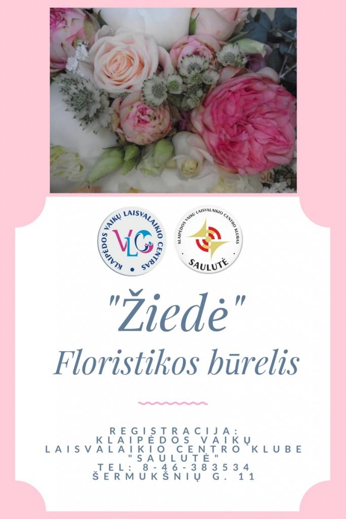 Floristikos burelis Ziede