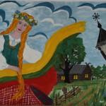 Rūta Baležentytė, 12 metų, Alytus, II vieta