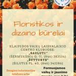 Floristikos ir dizaino bureliai