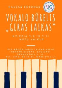 Vokalo burelis 2017-2018