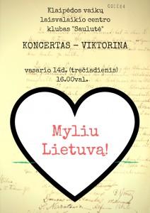 Myliu Lietuva